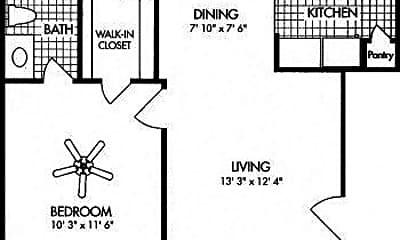 Bathroom, 17103 Imperial Valley Dr, 2