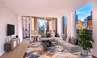 Living Room, 15 W 61st St, 1