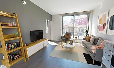 Living Room, 1075 Market St, 0