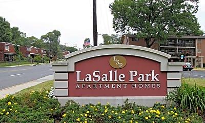 Community Signage, LaSalle Park Apartments, 2
