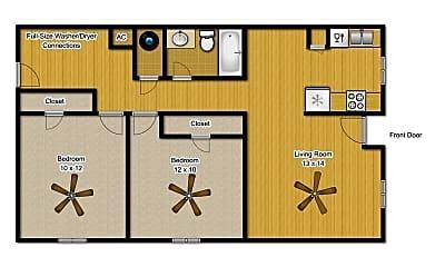 Building, 3613 Comanche St, 1
