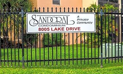 Community Signage, 8005 Lake Dr, 0