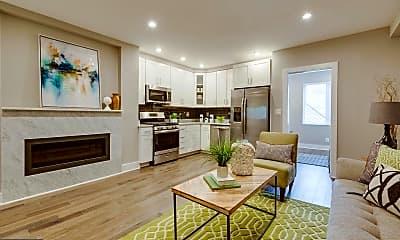 Living Room, 220 T St NE 2, 1