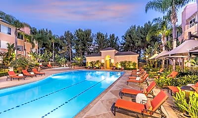 Pool, Colony at Fashion Island, 1