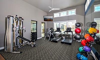 Fitness Weight Room, Bridge at Harris Ridge, 2
