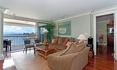 Living Room, 2877 Kalakaua Ave 1107, 1