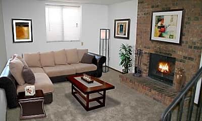 Living Room, The Villas of White Oak, 1