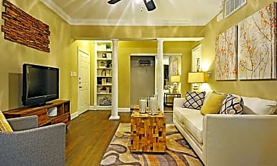 Living Room, Marquis at Great Hills, 1