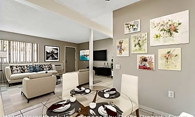 Living Room, 1340 N F St, 1