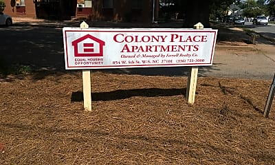 Colony Place Apartments, 1