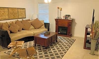 Living Room, 7323 Snowden Rd 2104, 1