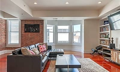 Living Room, 116 Crown St 3A, 1