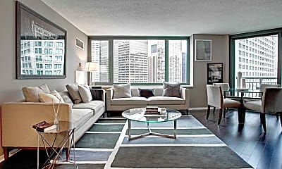 Living Room, Cityfront Place, 1