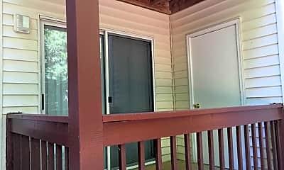 Patio / Deck, Carolina Woods Apartments, 2