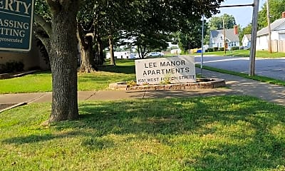 Lee Manor Apartments, 1
