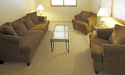 Living Room, Smith Apartments- 58 E Armory, 1