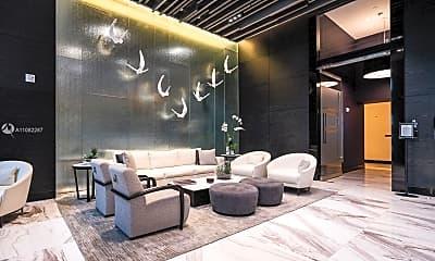 Living Room, 851 NE 1st Ave 1805, 1