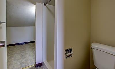 Bathroom, East Market & Tudor Apartments - Ellet Area, 2