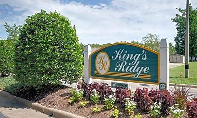 Community Signage, King's Ridge Apartments, 2