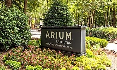 Community Signage, ARIUM Lake Lynn, 2