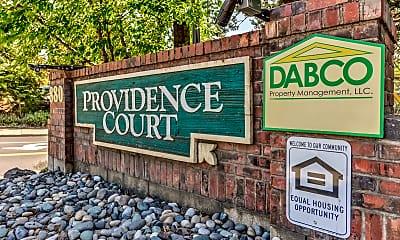 Community Signage, Providence Court Apts, 2