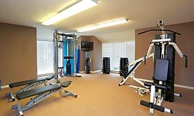 Fitness Weight Room, Shoreline, 2