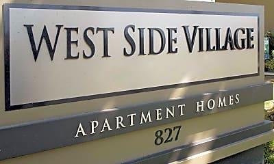 Community Signage, Westside Village, 2