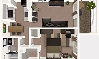Building, Legacy at Westchase Apartment, 1