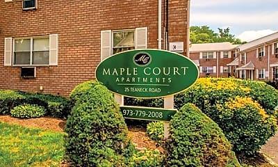 Community Signage, Maple Court Apartments, 0