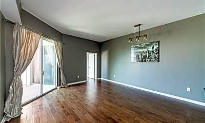 Living Room, 388 E Ocean Blvd 1701, 1
