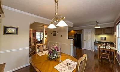 Dining Room, 611 Budleigh Cir, 2