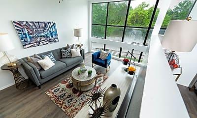 Living Room, Lofts On Hulen, 0