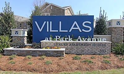 Community Signage, Villas at Park Avenue, 2
