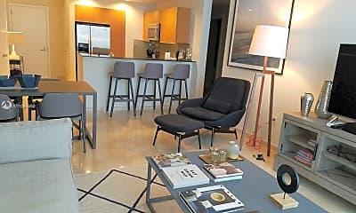Living Room, 1060 Brickell Ave 3211, 0