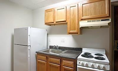 Kitchen, West Bexley Apartments, 2