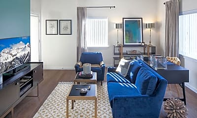 Living Room, Riverwalk, 1
