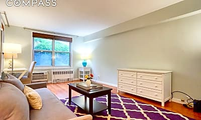 Living Room, 345 E 54th St 1-B, 1