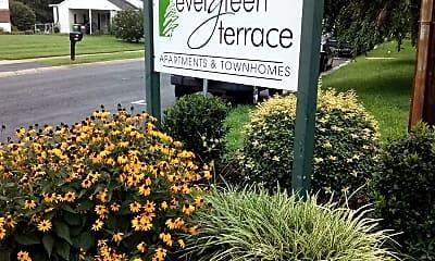 Evergreen Terrace Townhouses & Apts., 1