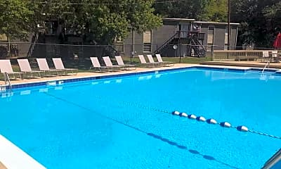 Pool, The Willows Apartments, 2