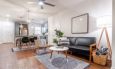 Living Room, 3109 Green Street, Unit 111, 1