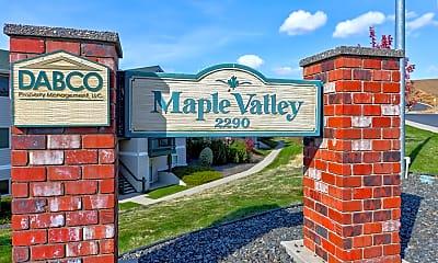 Community Signage, Maple Valley, 0