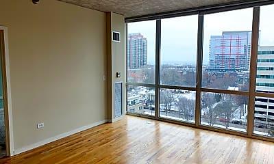 Living Room, 1845 S Michigan Ave 1106, 1