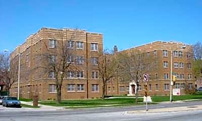 Building, Franklin Arms Apartments, 1