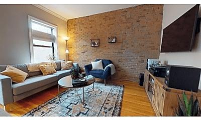 Living Room, 12 Concord Square, 1