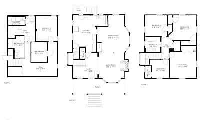 Living Room, 2124 NE 9th Ave, 2