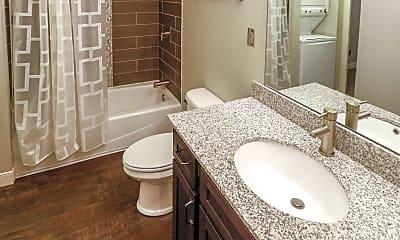 Bathroom, Lofts at Union Street, 2
