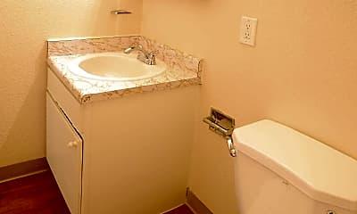 Bathroom, The Haven at Valley Hi, 2
