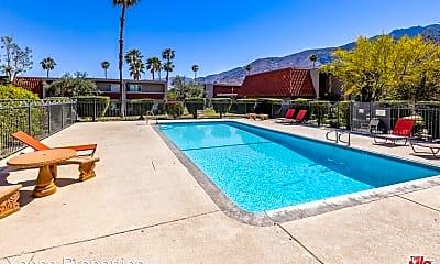 Pool, 2230 North Indian Canyon Drive Unit E, 2