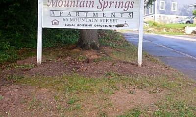 Mountain Springs apartments, 1
