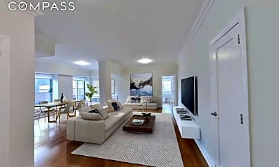 Living Room, 360 E 65th St 19-C, 0